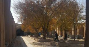 میدان تاریخی خان در یزد