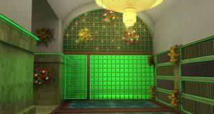 ساخت پنجرههای سرداب غیبت امام زمان(عج)