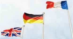 فرانسه، آلمان و انگلیس
