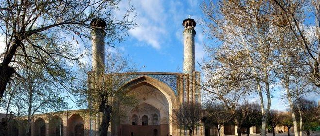 ساماندهی بام مسجد جامع عتیق قزوین