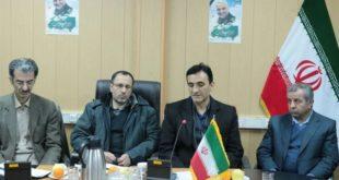 جلسه بررسی اعتبارات پروژههای عمرانی شهرستان کامیاران