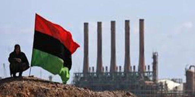 تولید نفت لیبی