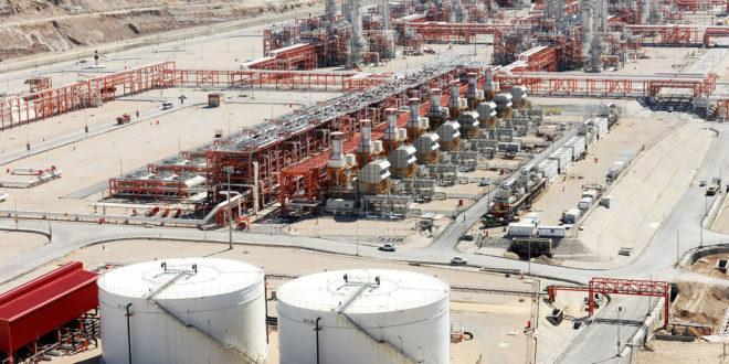 ذخیرهسازی مخازن میعانات گازی پارس جنوبی