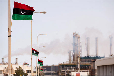 تولید نفت خام لیبی