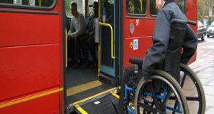 وسیله نقلیه عمومی مناسب سازی شده برای معلولان