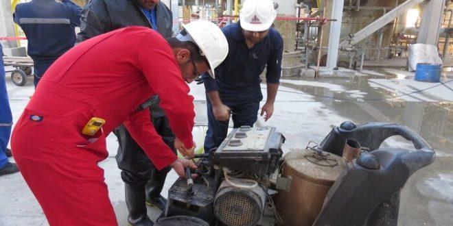 تعمیر تاسیسات فرآورش گاز