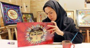 نمایشگاه نقاشیهای پشتشیشه آقاقاسمیها