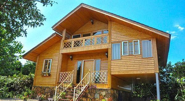 خونه چوبی رامسر
