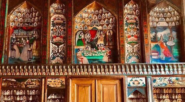 دیوارنگارههای خانه حریری تبریز