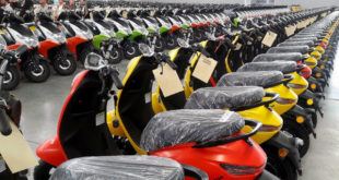 تولید ۳۰۰۰ موتورسیکلت برقی برای پستچیها