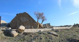 مسیر سنگنوشته تخت خان ایلام