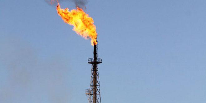 سوختن گازهای مشعل