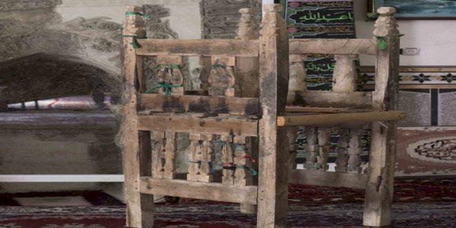 مرمت منبر چوبی