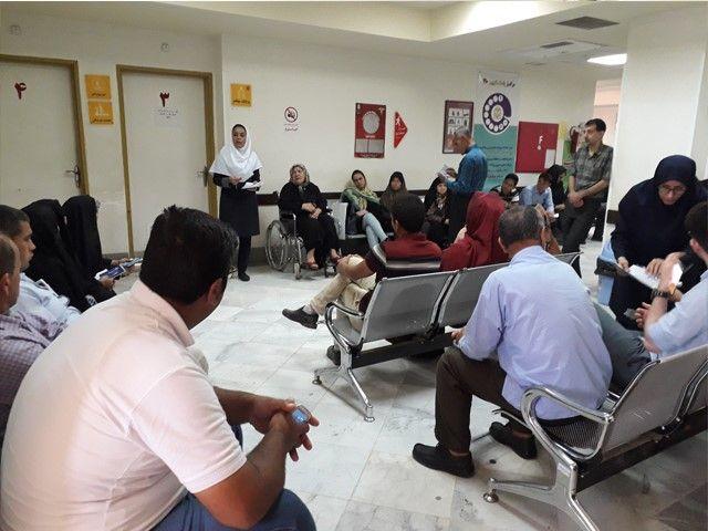 شلوغی مراکز درمانی