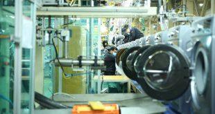 خط تولید ماشین لباسشویی جی پلاس